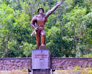Battle of Ba Gia - The Ba Gia victory monument in Quang Ngai Province.