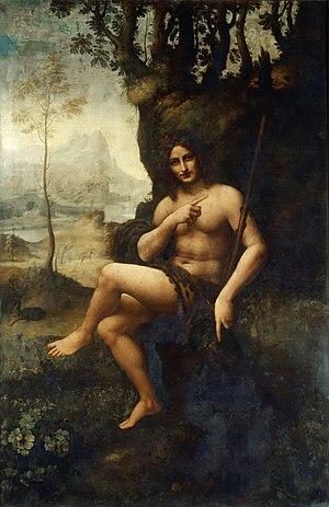 Bacchus (Leonardo) - Image: Bacchus (painting)
