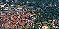 Bad Mergentheim aus der Vogelperspektive. Viel Grün.jpg