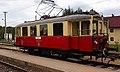 Bahnhof Bürmoos - Nostalgie-Waggon (1).jpg