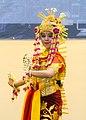 Baksa Kembang welcome dance, Aria Barito Hotel, Banjarmasin 2018-07-27 05.jpg