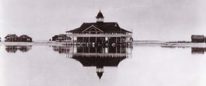 History of Newport Beach, California - Balboa Pavilion, 1906.