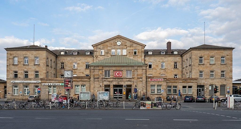 Bamberg Bahnhof, Empfangsgebäude