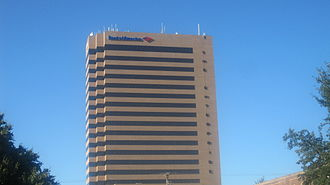Abilene, Texas - The 20-story Bank of America Enterprise Tower is the tallest building in west-central Texas and one of the five highest in the western two-thirds of the state.