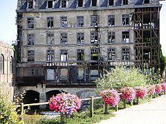 Мельница в Bar-sur-Seine (Бар-сур-Сен), Шампань, Франция