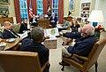 Barack Obama, Craig Fugate and officials talking about Hurricane Matthew.jpg