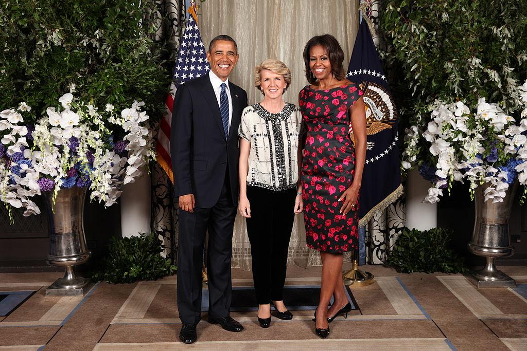 File Barack Obama Julie Bishop And Michelle Obama Jpg