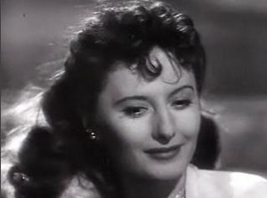 Cropped screenshot of Barbara Stanwyck from th...