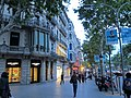 Barcelona Street at Twilight - panoramio.jpg