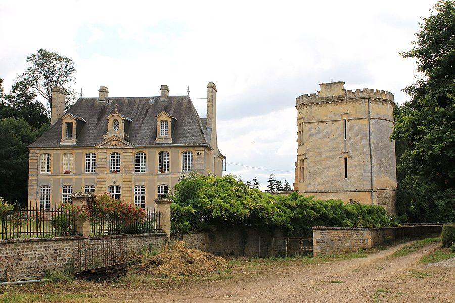 Manoir et tour de l'ancien château, Baron-sur-Odon, Calvados