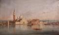 Basílica de San Giorgio Maggiore, Veneza (1846) - Visconde de Meneses (CP-MA, Inv. 84.707).png