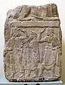 Base di cippo in pietra fetida con scene di danza e musica, 500-450 ac ca. 01.jpg
