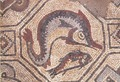 Basilica Martyrion Detail of a mosaic pavement.tif