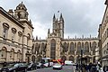 Bath Abbey, seen from High Street.jpg