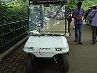 Battery Vehicle in Mysore Zoo.JPG