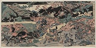 Battle of Kurikara 1183 battle of the Genpei War