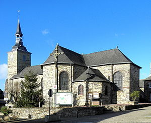 Baulon - The church of Baulon