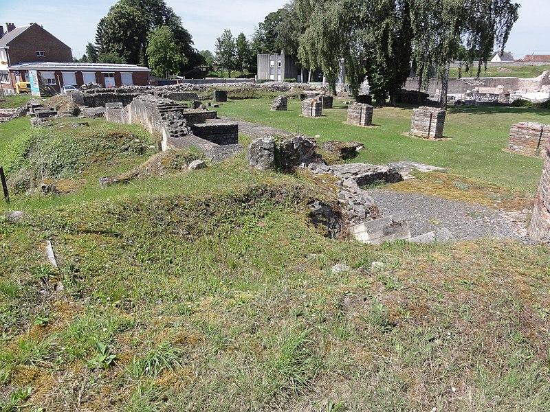 Bavay (Nord, Fr) vestiges cité gallo-romaine 01