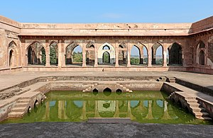 Sahn - Sahn of the Baz Bahadur's Palace in Mandu, India