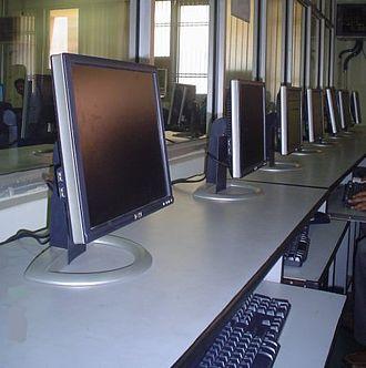 Baba Banda Singh Bahadur Polytechnic College - Computers in a lab at BBSBPC