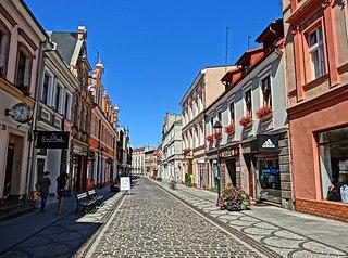 Długa street in Bydgoszcz street in Bydgoszcz