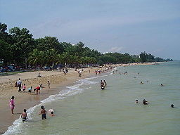 Beach at East Coast Park, Singapore - 20050809-01.jpg