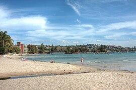 Beach rose baay sydney harbour HDR