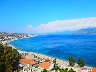 Messina - a tract of around 30 kilometres of beaches of Messina