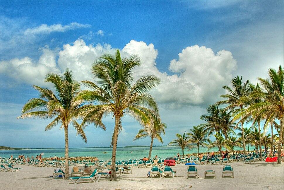 Beaches in Nassau, Bahamas