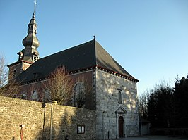 De Sint-Janskerk in Beaufays
