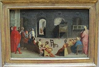 La Prédication de saint Bernardin de Sienne