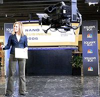 A Squawk Box outside broadcast, hosted by Rebecca Quick.