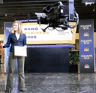 CNBC - A Squawk Box outside broadcast, hosted by Rebecca Quick