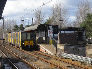 Bede Metro station Tyne and Wear Metro station in South Tyneside