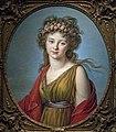 Bemberg Fondation Toulouse - Portrait de la comtesse Kagenek en Flore - Elisabeth Vigée-Lebrun 1783 75x62 HT Inv.1128.jpg