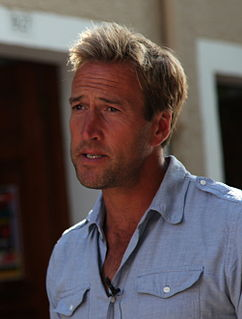 Ben Fogle English adventurer, broadcaster and writer
