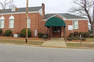 Fitzgerald, Georgia - Ben Hill County School District headquarters