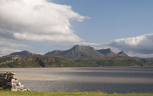 Ben Loyal and the Kyle of Tongue, Sutherland (3-06-2011, 19-25-02)