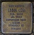 Bendorf, Bachstr. 1, Stolperstein Emma Löb.jpg