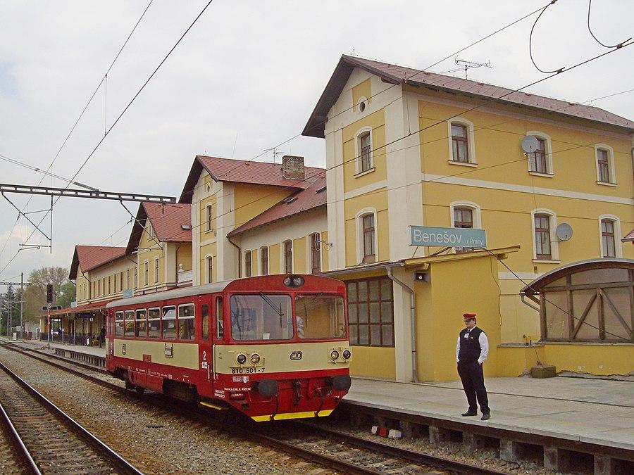 Benešov u Prahy railway station