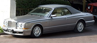 Bentley Azure - Image: Bentley Azure first, top up