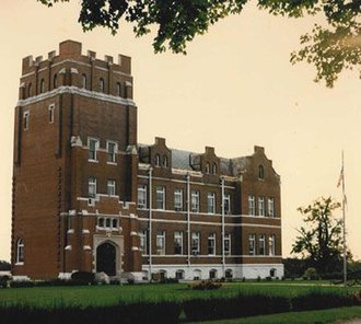 Simpsonville, Kentucky - Berea Hall, the main administrative and classroom building at the Lincoln Institute
