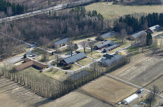 Berg concentration camp - Berg prison as it stands today