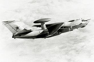 Beriev A-50 - Image: Beriev A 50 black white