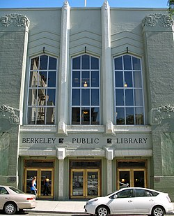Berkeley Public Library (Kittredge St., Berkeley, CA).JPG