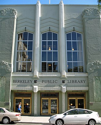Berkeley Public Library - Image: Berkeley Public Library (Kittredge St., Berkeley, CA)