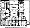 Berlin, Grundriss Geschäftszentrale der Dresdner Bank, Untergeschoss, 1887.jpg