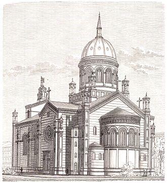 St. Michael's Church, Berlin - View of the church (1896)