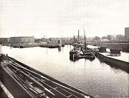 Urbanhafen um 1900