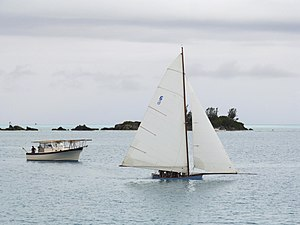 Bermuda Fitted Dinghy - Bermuda Fitted Dinghy at Mangrove Bay